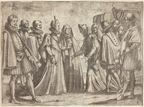 Reception at Mantua [recto], 1612.