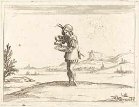 Man Washing a Pearl.