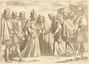 Reception at Mantua, 1612.