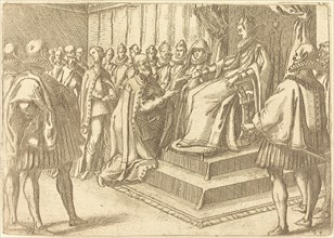 Reception of the Envoy of Poland, 1612.