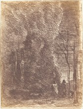 Dante and Virgil (Dante et Virgile), 1858.