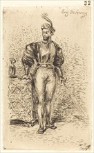 A Man with Weapons (Un Homme d'armes), 1833.