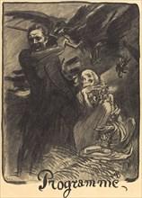 Les Honnêtes femmes; Conférence, Poésies inédites d'Henry Becque; La Parisienne, 1904. Creator: Unknown.