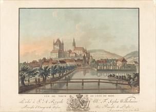 Vue de Thun du Cote du Midi, probably 1776. [View of Thun from the South].