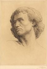 Head of a Man (Tete d'homme), 1877.