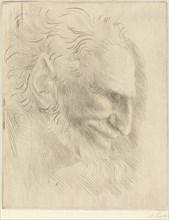 Study for the Head of a Man (Etude de tete d'homme).