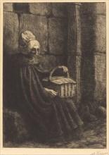 Peasant Woman of Boulogne (Paysanne des environs de Boulogne dite La femme au panier).