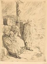 Fishermen's Wives (Femmes de pecheurs).