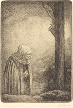 Woman at the Foot of the Cross (Femme au calvaire).