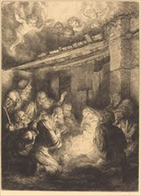 The Adoration of the Shepherds (L'adoration des bergers).
