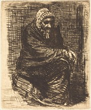 Old Woman Seated (La vieille femme assise).