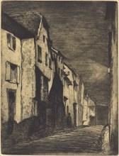 Street in Saverne, 1858.