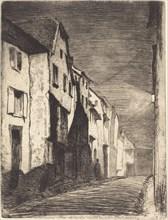 Street at Saverne, 1858.