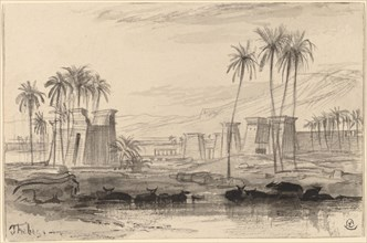 Thebes, 1884/1885.