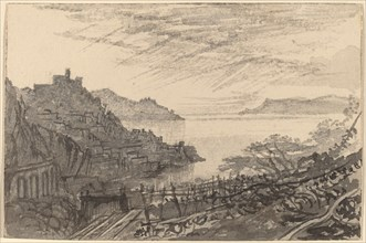 View of a Bay from a Hillside (Amalfi), 1884/1885.