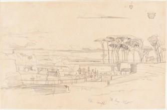 Villa Pamphili, 1840.