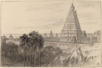 Tanjore, India, 1884/1885.