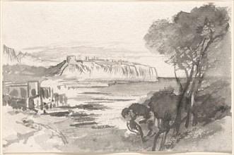 View across a Bay (Monaco), 1884/1885.