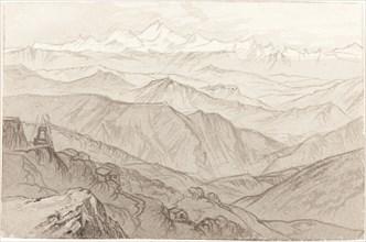 Mount Kinchinjunga (All Things Fair), 1874.