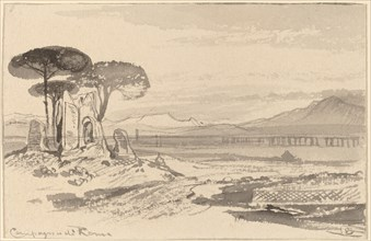 Campagna di Roma, 1884/1885.