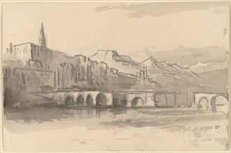Bridge with Mountains in the Distance (Ventimiglia), 1884/1885.