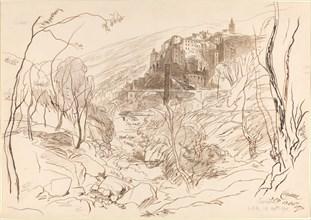 View of Ceriana, 1870.