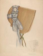 Bonnet, c. 1937.