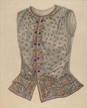 Silk Vest, c. 1938.