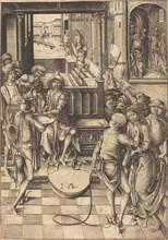 Christ before Pilate, c. 1480.