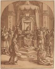 The Judgment of Solomon, 1782.