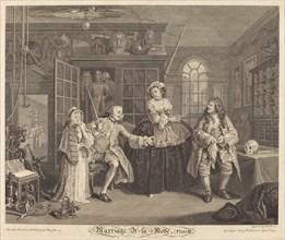 Marriage a la Mode: pl. 3, 1745.