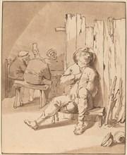 Drunken Peasant at an Inn, 1775.