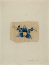 Fragment of Bed Curtain, c. 1937.