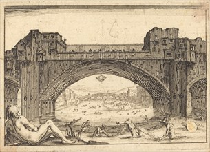 Ponte Vecchio, Florence, c. 1617.