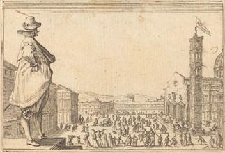 Piazza del Duomo, Florence, c. 1622.