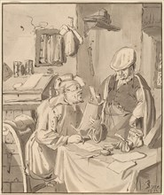 The Collector, 1777, published 1786.