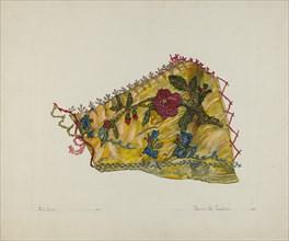 Patchwork Quilt (Section), 1935/1942.