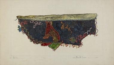 Quilt Section - Patchwork, 1935/1942.