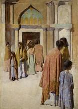 Femmes pres des Escaliers no. I, n.d.