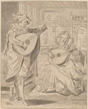 Musical Company, 1772, published 1774.
