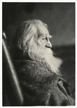 Walt Whitman in Camden, N.J., c. 1891.