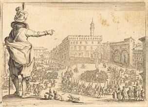 Piazza della Signoria, Florence, c. 1622.