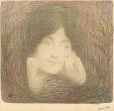 Mlle Moréno de la Comédie-Française, 1897.