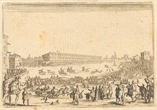 Piazza Presso alla Porta al Prato, c. 1622.