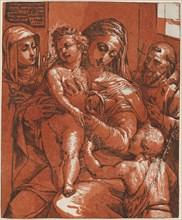 Madonna and Child Accompanied by Saints, 1585.