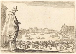 Piazza Santa Maria Novella, Florence, c. 1622.