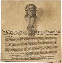 The Triumph of Julius Caesar: Title Page, 1599.