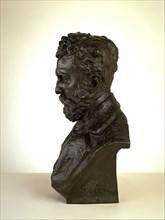 Portrait of Docteur Thiriar, 1872 cast by 1900.