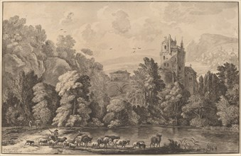 Valley with an Aged Castle, 1784, published 1786.