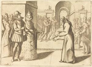 A Capucio Bringing Thanks of the King of Bavaria, 1612.